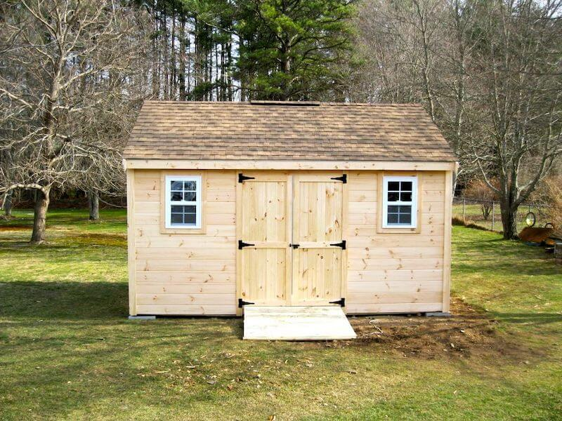 Featured Pine Shed