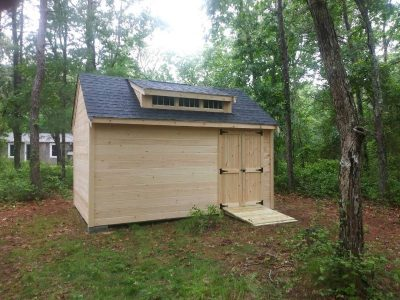 #22 (10' x 16' Pine Custom Shed With 8' Shed Dormer)