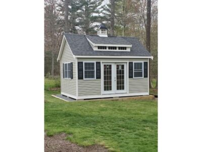#56 (12' x 16' Vinyl Custom Shed With 8' Shed Dormer)