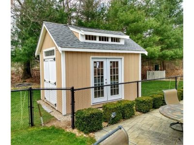 10' x 14' LP SmartSide Wood Shed With 8' Shed Dormer