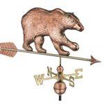 $525.00 - Bear With Arrow Weathervane