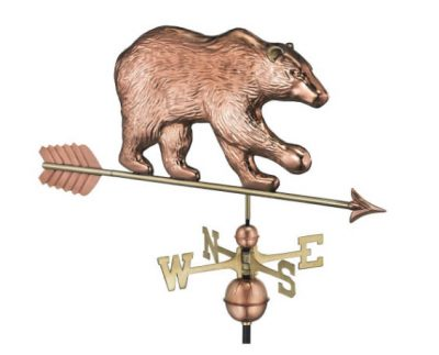 $525.00 - Bear With Arrow Weathervane