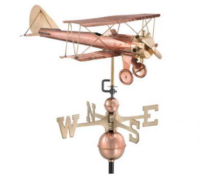 $375 - Biplane Weathervane