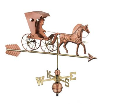 $600.00 - Country Doctor With Arrow Weathervane