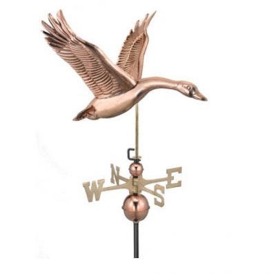 $375 - Feathered Goose Weathervane