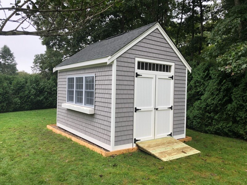 Featured Vinyl Shake Shed Photo