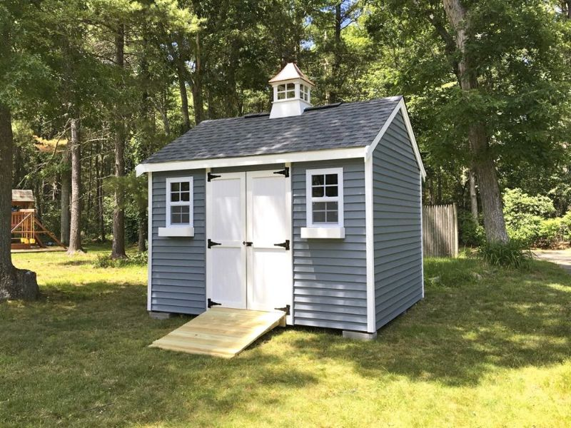 10' x 12' Vinyl Shed