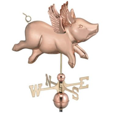 $450.00 - Flying Pig Weathervane