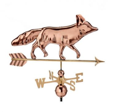 $450.00 - Fox With Arrow Weathervane