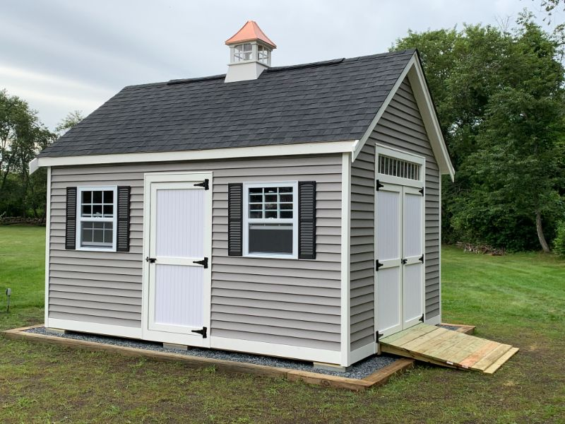 Featured Vinyl Shed Photo