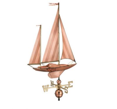 $400 - Large Sailboat Weathervane