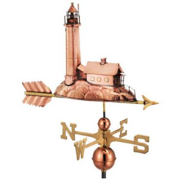 $575.00 - Lighthouse With Arrow Weathervane