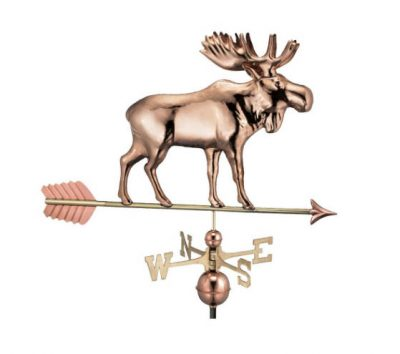 $525.00 - Moose With Arrow Weathervane