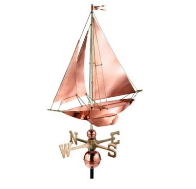 $300 - Racing Sloop Weathervane