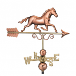 $375.00 - Galloping Horse With Arrow Weathervane