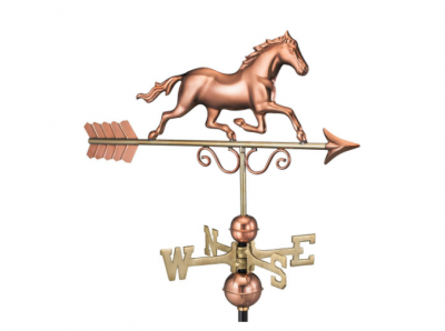 $275.00 - Galloping Horse With Arrow Weathervane