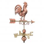 $675.00 - Strutting Turkey With Arrow Weathervane