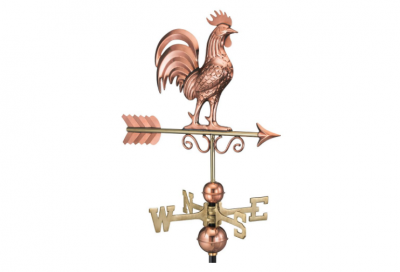 $375.00 - Bantam Rooster With Arrow Weathervane