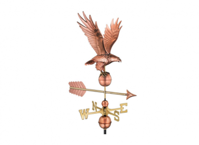 $425.00 - Freedom Eagle With Arrow Weathervane