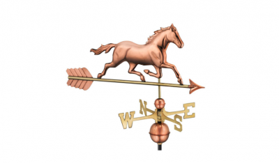 $350.00 - Trotting Horse With Arrow Weathervane
