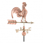$375.00 - Rooster With Arrow Weathervane