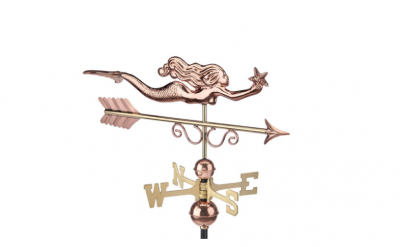 $375.00 - Little Mermaid With Arrow Weathervane