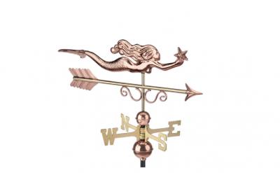 $275.00 - Little Mermaid With Arrow Weathervane