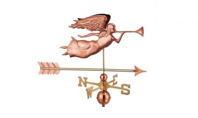 $375.00 - Angel With Arrow Weathervane