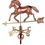 $475.00 - Smithsonian Running Horse With Arrow Weathervane