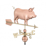 $500.00 - Country Pig With Arrow Weathervane