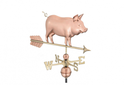$400.00 - Country Pig With Arrow Weathervane