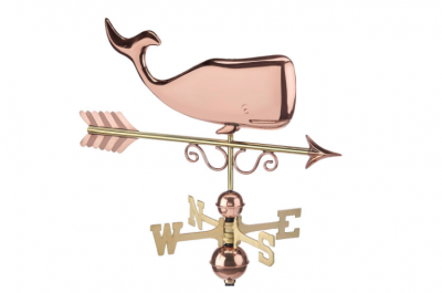 $350.00 - Save The Whales With Arrow Weathervane
