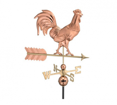 $375.00 - Smithsonian Rooster With Arrow Weathervane