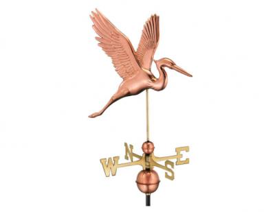 $375.00 - Graceful Blue Heron Weathervane