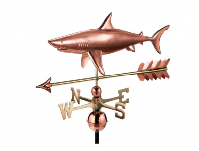 $625.00 - Shark With Arrow Weathervane