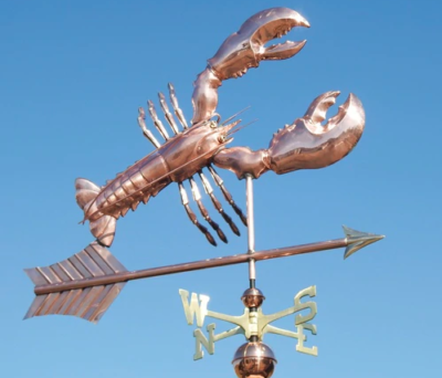 $675.00 - Lobster With Arrow Weathervane