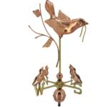 $575.00 - Mother Bird & Chicks Weathervane