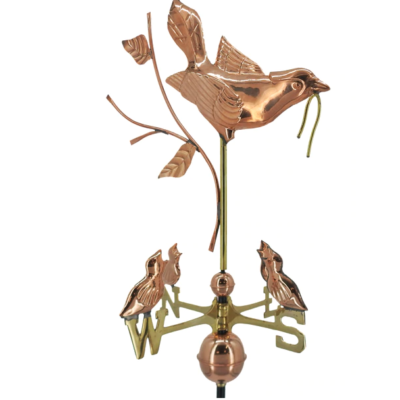 $575.00 - Mother Bird & Chicks Weathervane