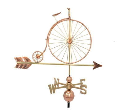 $575.00 - Old Time Bike With Arrow Weathervane