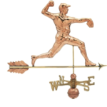 $575.00 - Pitcher With Arrow Weathervane