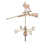 $600.00 - Rifle With Moose Weathervane