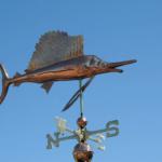 $700.00 - Sailfish Weathervane