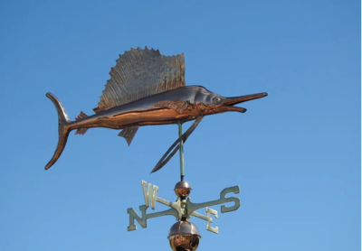 $700.00 - Sailfish Weathervane