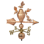 $675.00 - Bee Hive With Arrow Weathervane