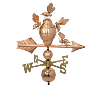 $675.00 - Bee Hive With Arrow Weathervane