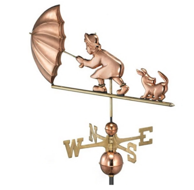 $500.00 - Blustery Day Weathervane