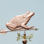 $775.00 - Bullfrog With Arrow Weathervane