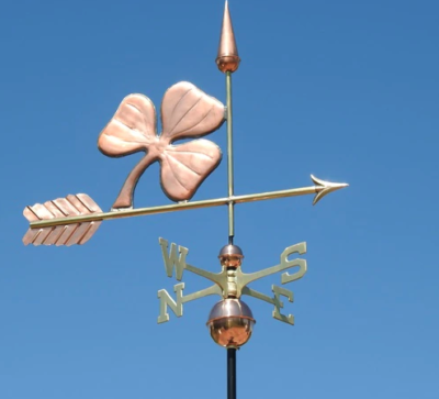 $675.00 - Shamrock With Arrow Weathervane