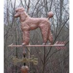 $750.00 - Poodle With Arrow Weathervane