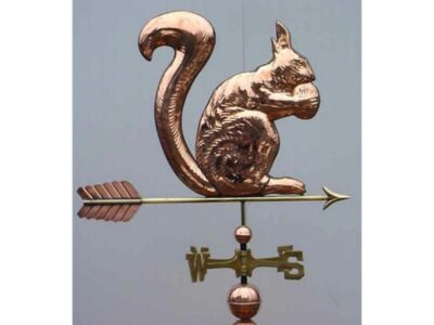 $525.00 - Squirrel With Arrow Weathervane